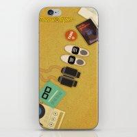 moonrise kingdom iPhone & iPod Skins featuring Moonrise Kingdom by Lindsey Pudlewski