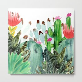 A Prickly Bunch III Metal Print