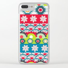 Bright spring Clear iPhone Case