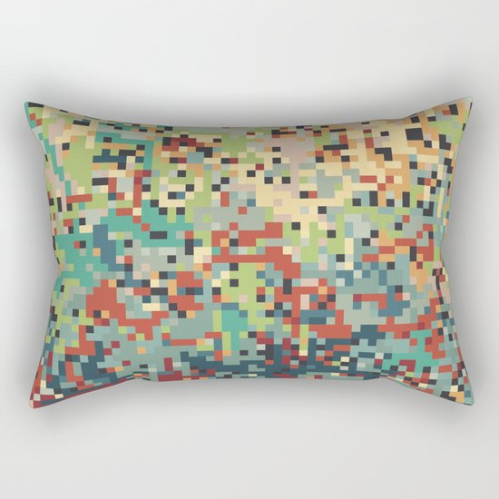 Pixelmania I Rectangular Pillow