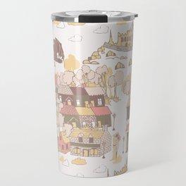 Cashel of the Kings Hand Drawn Art Travel Mug