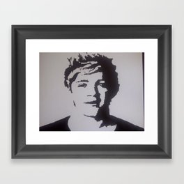 One Direction- Niall Horan Framed Art Print