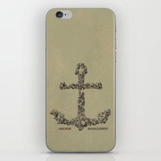 Anchor Management iPhone Skin