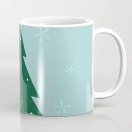New folk artwork : xmas Tree Coffee Mug