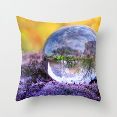 COLLECTION »CRYSTAL BALL« | Autumn Light Throw Pillow
