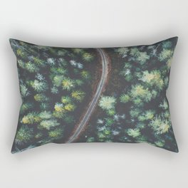 Landscape Photography by Giovanni Bianchi Rectangular Pillow