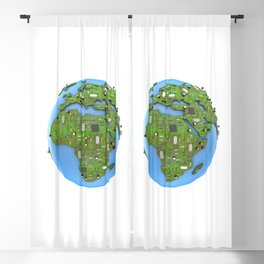 Data Earth Blackout Curtain
