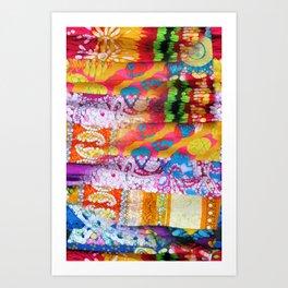 Gipsy Blanket Art Print