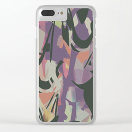 Abstract Painting No. 20 (Hypelessness) Clear iPhone Case