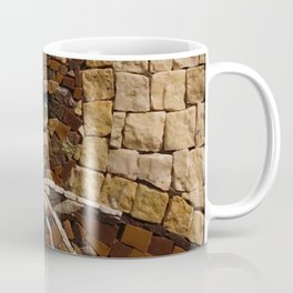 Portrait Of A Cat Made Of Stones Coffee Mug