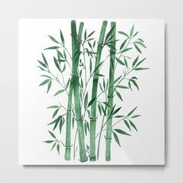 Bamboo 1 Metal Print