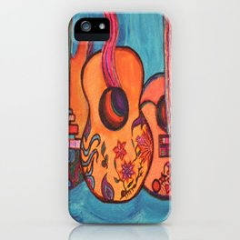 3 Guitars iPhone Case
