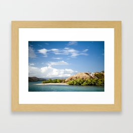 Komodo Island Framed Art Print