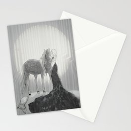 Our Hearts In the Moonlight  Stationery Cards