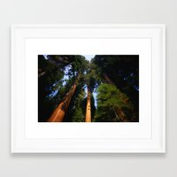 giants Framed Art Prints featuring Giants by Robin Curtiss