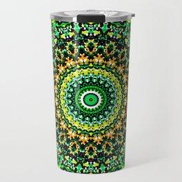 Mosaic Kaleidoscope 1 Travel Mug
