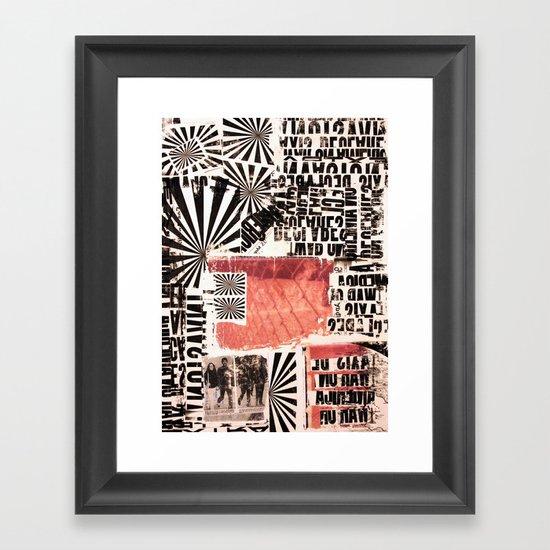 COPY Framed Art Print