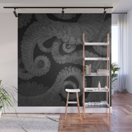 Octopus BW. Wall Mural