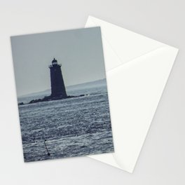 Whaleback Light Stationery Cards
