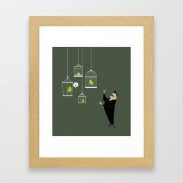 Music director Framed Art Print