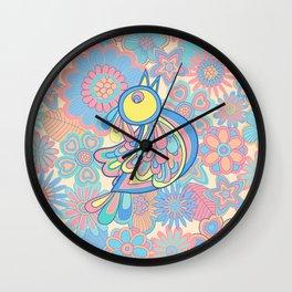 Free sweet bird Wall Clock