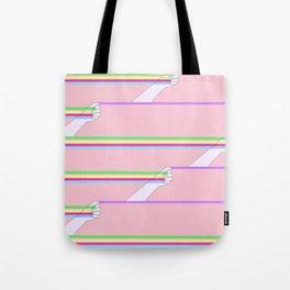 Feminist power pattern Tote Bag