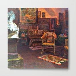 Studio Interior by Kristian Zahrtmann Metal Print