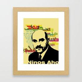 Ninos Aho: Atoraya Khata Framed Art Print