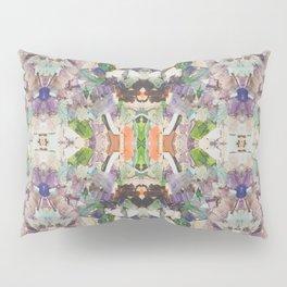 Beautifully Broken   Abstract Glass Art Pillow Sham