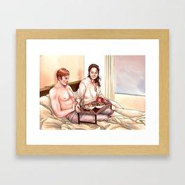 Reyux - Sweet Morning Framed Art Print