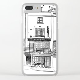The Portcullis, Clifton Clear iPhone Case