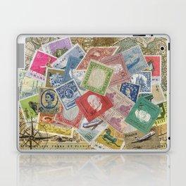 World Stamps Laptop & iPad Skin