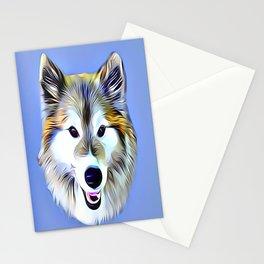 A Wolf Hybrid Stationery Cards
