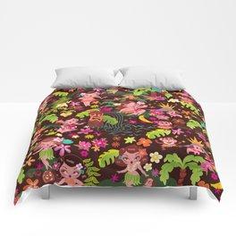 Hula Cuties Pattern Comforters