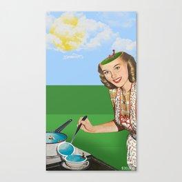 Mrs. Summer Canvas Print