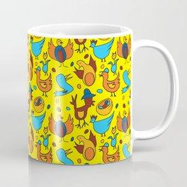 Crazy Birds Coffee Mug