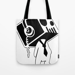 Boxed Skull, Named Ick - Business and Pleasure Tote Bag