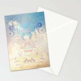 Balance And Success Stationery Cards