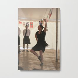 Highland Fling Metal Print