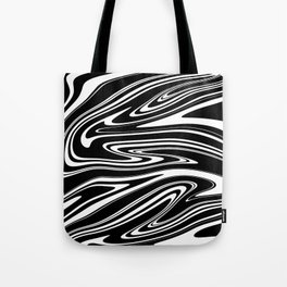 Stripes, distorted 4 Tote Bag