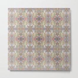 Echoes of deKooning - Pastel Abstract Metal Print