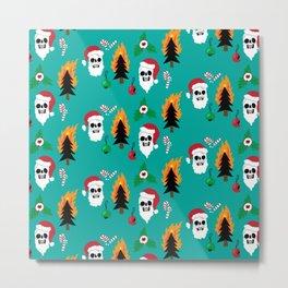 Chaos Christmas Metal Print