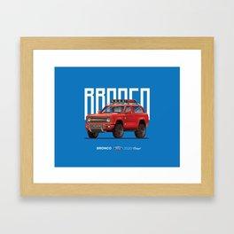 Ford Bronco 2020 Framed Art Print