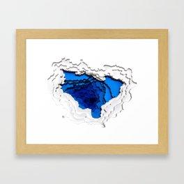 Water Portal I Framed Art Print