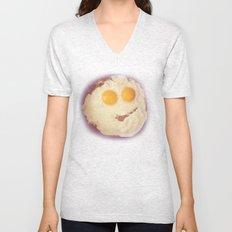 smiley egg Unisex V-Neck