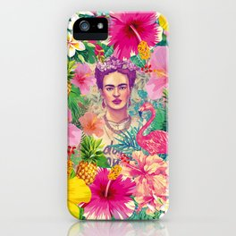 Frida Jungle iPhone Case