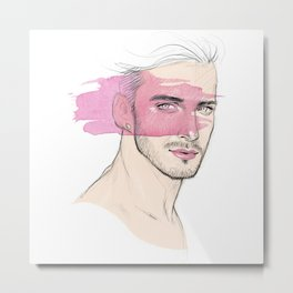 Lipstick Metal Print