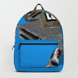 Tank 3D toon Backpack