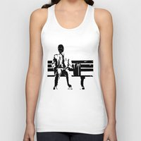 forrest gump Tank Tops featuring Forrest Gimp by Jon Spagnola