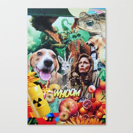 Whoom! Canvas Print